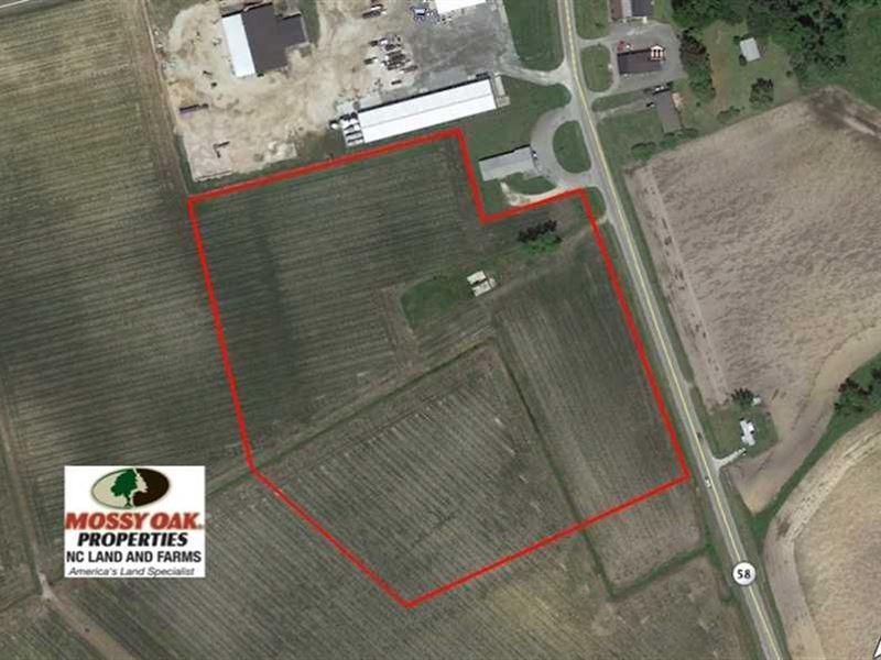 Under Contract, 14 Acres of Comme : Trenton : Jones County : North Carolina