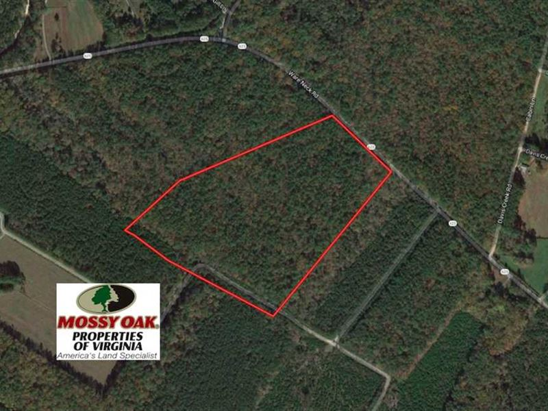 Under Contract, 31 Acres of Hunti : Gloucester : Gloucester County : Virginia