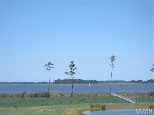 Beautiful Lot W/Great Water Views : Barco : Currituck County : North Carolina