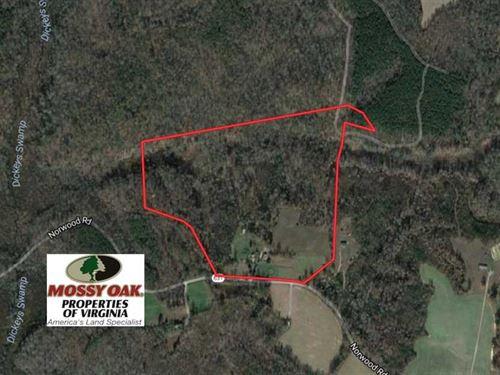 Under Contract, 50 Acres of Rural : Bruington : King And Queen County : Virginia