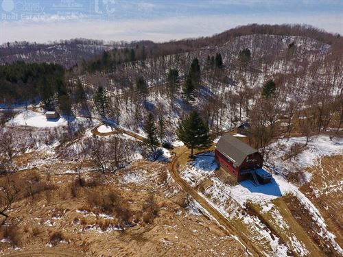 Barn Style Home With Hunting : Cazenovia : Richland County : Wisconsin
