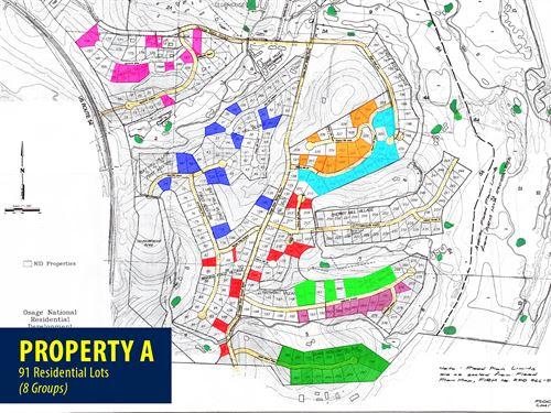 Property A Osage National Lots : Lake Ozark : Miller County : Missouri