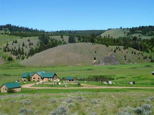 Royal Elk Ranch : Philipsburg : Granite County : Montana
