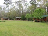 3 Cabins On 11 Acres In Pike County : Summit : Pike County : Mississippi