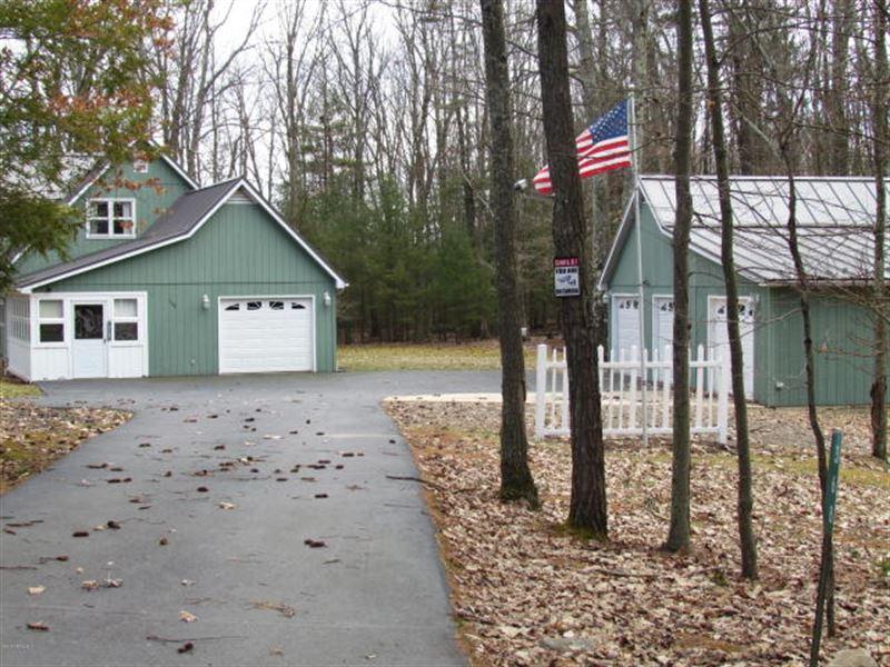 10 Wooded Acres, Cape Cod : Benton : Columbia County : Pennsylvania