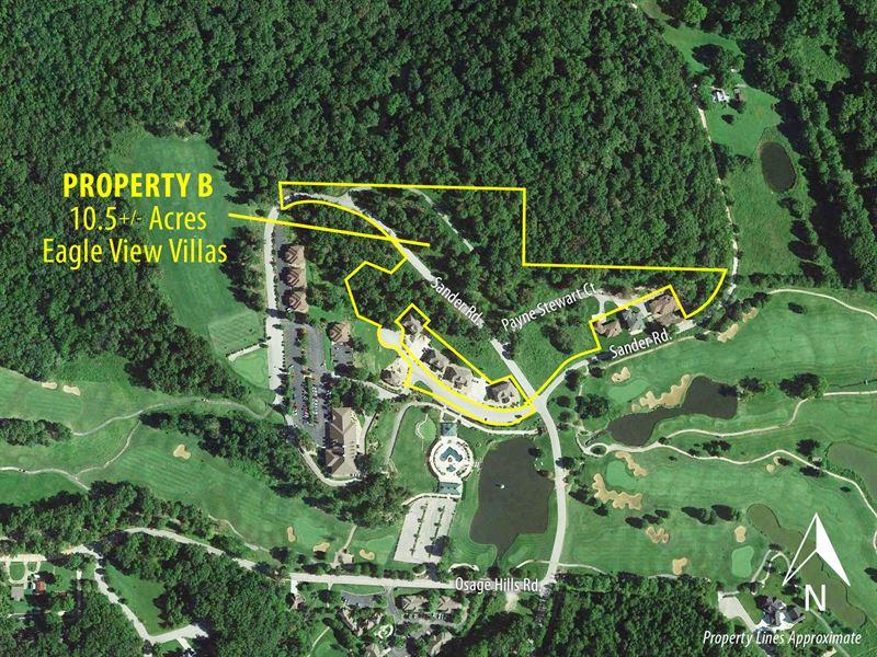 Property B Eagle View Villas : Lake Ozark : Miller County : Missouri