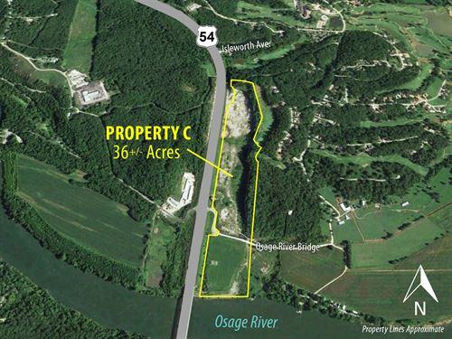 Property C Commercial Dev Land : Lake Ozark : Miller County : Missouri
