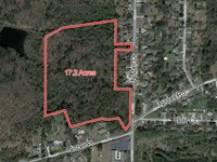 Undeveloped Land 17.2 Acres : Macon : Bibb County : Georgia