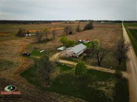 1653 Sq Ft. Country Home With 40 : Chetopa : Labette County : Kansas