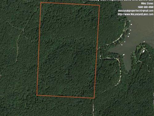 101 Acres Close to Lake of The Oza : Edwards : Camden County : Missouri