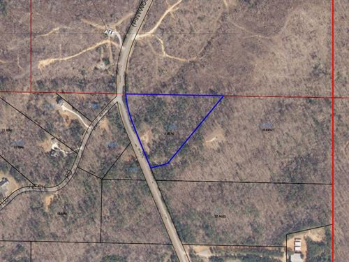 Acreage Seconds From Lake Martin : Alexander City : Tallapoosa County : Alabama