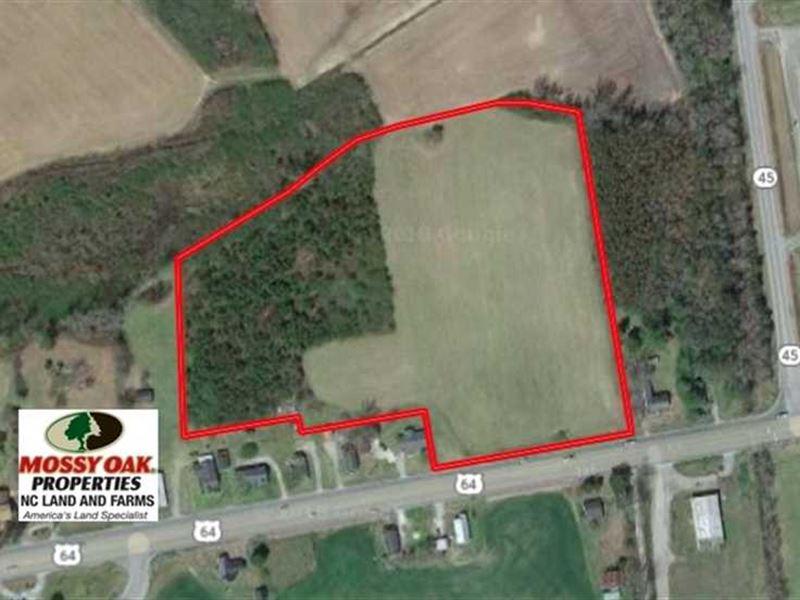 8 Acres of Land For Sale in Washin : Plymouth : Washington County : North Carolina