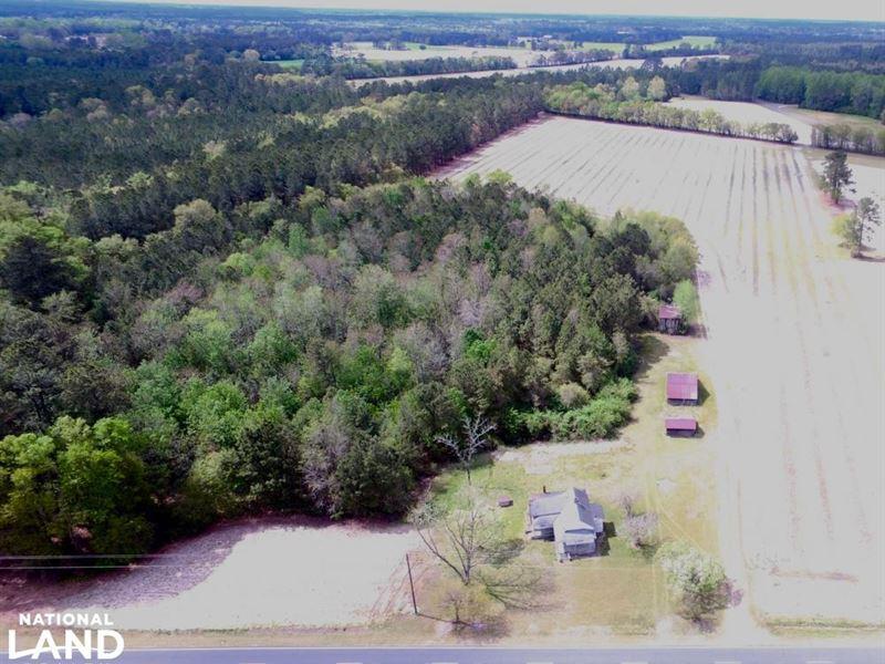 Butler Island Farm Near Fayettevill : Roseboro : Cumberland County : North Carolina