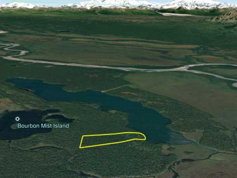 39.70 Acres on Hewitt Lake in Alas : Skwentna : Matanuska-Susitna Borough : Alaska