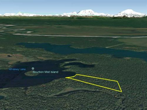 33.70 Acres on Whiskey Lake - Hunt : Skwentna : Matanuska-Susitna Borough : Alaska