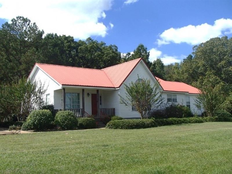 10 Acres, Home In Webster County : Mantee : Webster County : Mississippi