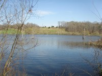 Private Fishing Hole : Meherrin : Prince Edward County : Virginia