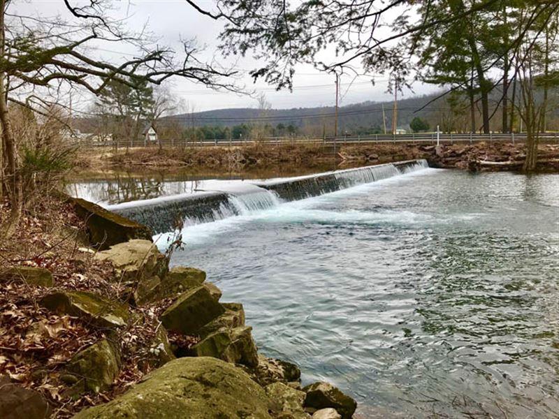 10 Acres, Fishing Creek Frontage : Benton : Columbia County : Pennsylvania