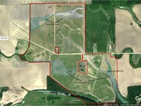 Rice Farm With Duck Hunting : Marks : Quitman County : Mississippi