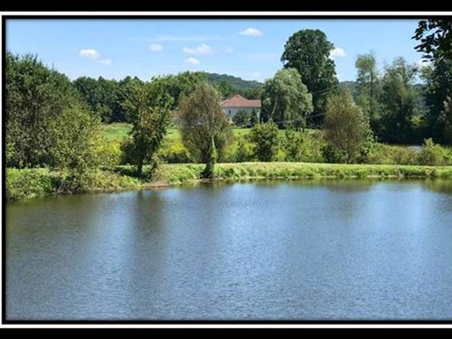 Large Pond With Wooded Acreage : Guysville : Athens County : Ohio