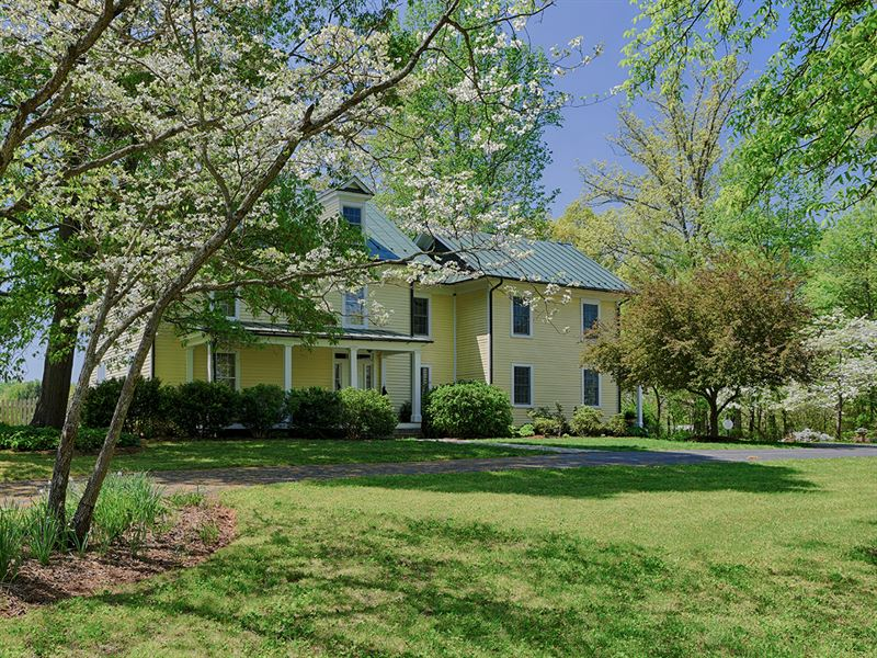 Spring Oak Farm : Orange : Orange County : Virginia