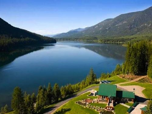 Northwest Montana Wilderness Estate : Troy : Lincoln County : Montana