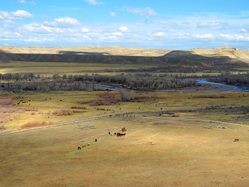 Crowheart River Property : Crowheart : Fremont County : Wyoming