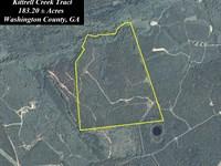 Kittrell Creek Tract : Sandersville : Washington County : Georgia