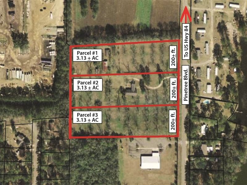 Prime Commercial Property : Thomasville : Thomas County : Georgia