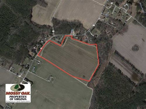 Under Contract, 30 Acres of Recre : Bloxom : Accomack County : Virginia