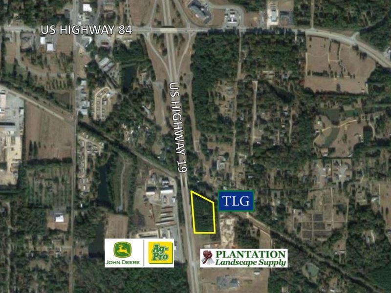 5 +/- Ac Us Hwy 19 S : Thomasville : Thomas County : Georgia