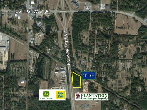 5 +/- Ac Us Hwy 19 S : Thomasville : Thomas County : Georgia