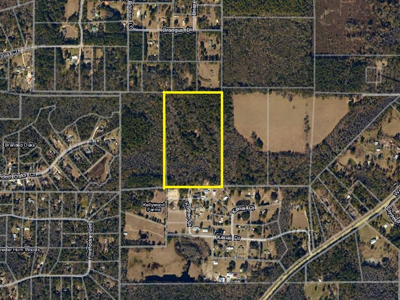 20.44 Ac On Kenai Ct : Tallahassee : Leon County : Florida