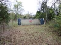 Beautiful Fenced Land : Marble City : Sequoyah County : Oklahoma