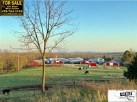 Poultry Farm With 15.8 Acres : Omaha : Boone County : Arkansas