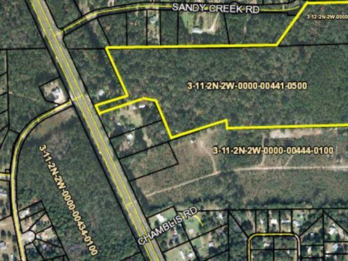37.89 Acres, Gadsden County : Havana : Gadsden County : Florida