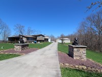 Christman Ridge Rd - 273 Acres : Lewisville : Monroe County : Ohio