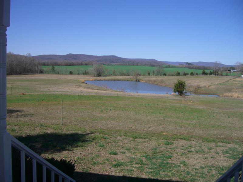 38 Ac Horse Or Cattle Farm : Stevenson : Jackson County : Alabama