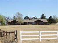 Home With Acreage : Cleo Springs : Major County : Oklahoma