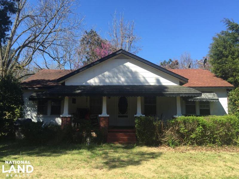 Titus Home And Acreage : Titus : Elmore County : Alabama