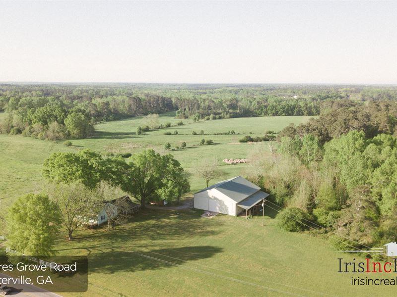 Beautiful Clarke County Farm : Winterville : Clarke County : Georgia