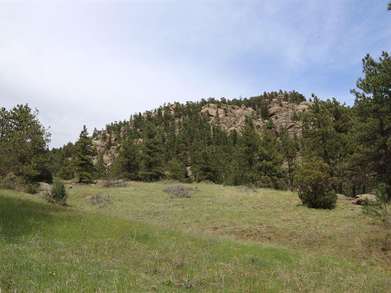 Pinewood Springs Acreage : Lyons : Boulder County : Colorado