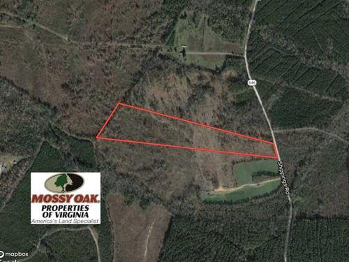 Reduced, 27.5 Acres of Prime Hunt : Dinwiddie : Virginia