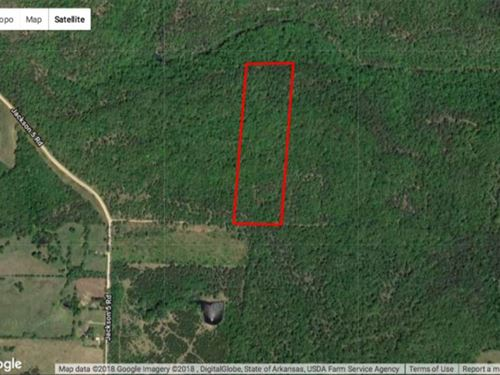 This Secluded 20 Acre Hunting : Bradford : Jackson County : Arkansas