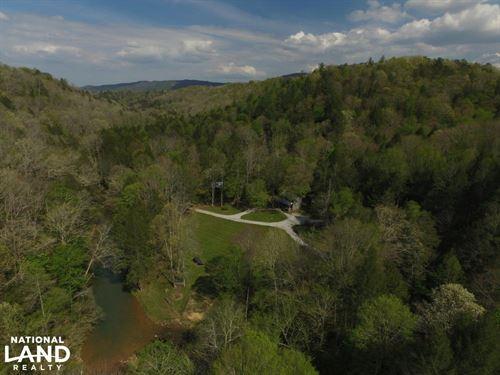 Cumberland Mountain Off Grid Retrea : Huntsville : Scott County : Tennessee