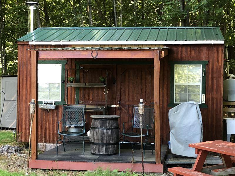 Southern Tier Camp With Views : Smyrna : Chenango County : New York
