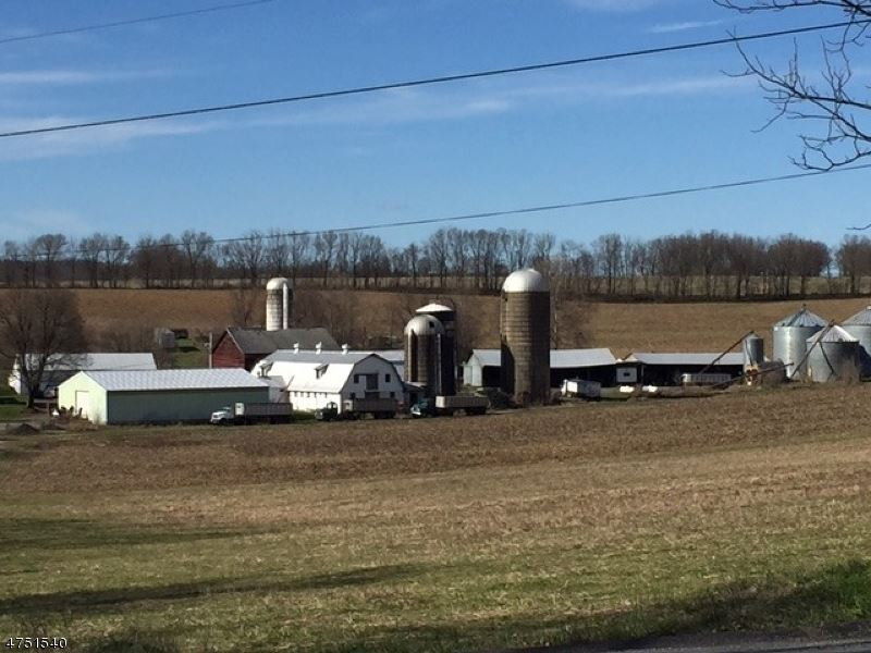 100 Acre Preserved Farm : Harmony : Hunterdon County : New Jersey
