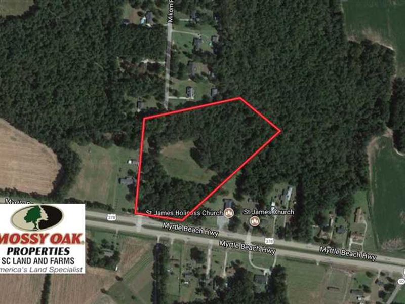 Under Contract, 10 Acres of Farm : Sumter : Sumter County : South Carolina