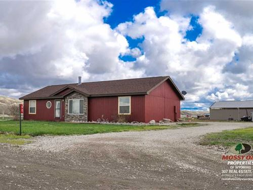Three Bedroom, Two Bath Home on 5 : Cody : Park County : Wyoming