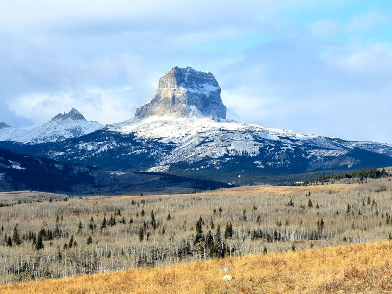 Chief Mountain Ranch : Babb : Glacier County : Montana
